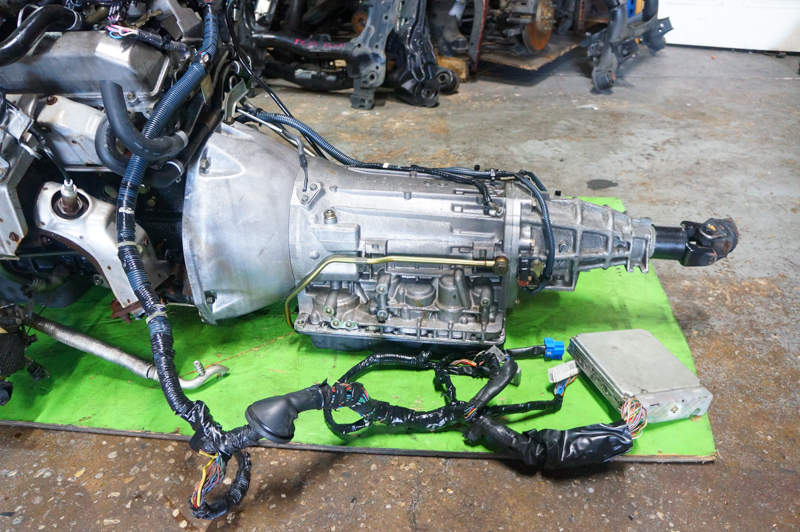 JDM RB25 NEO 6 ENGINE WITH AUTOMATIC TRANSMISSION, ECU & HARNESS