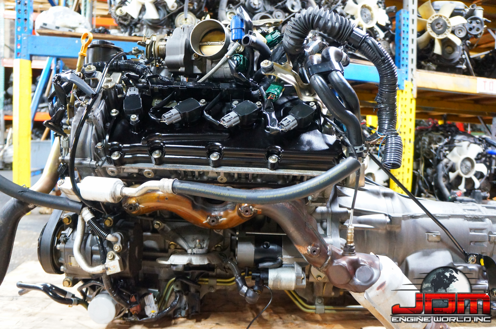 JDM VK45DE ENGINE WITH AUTOMATIC TRANSMISSION