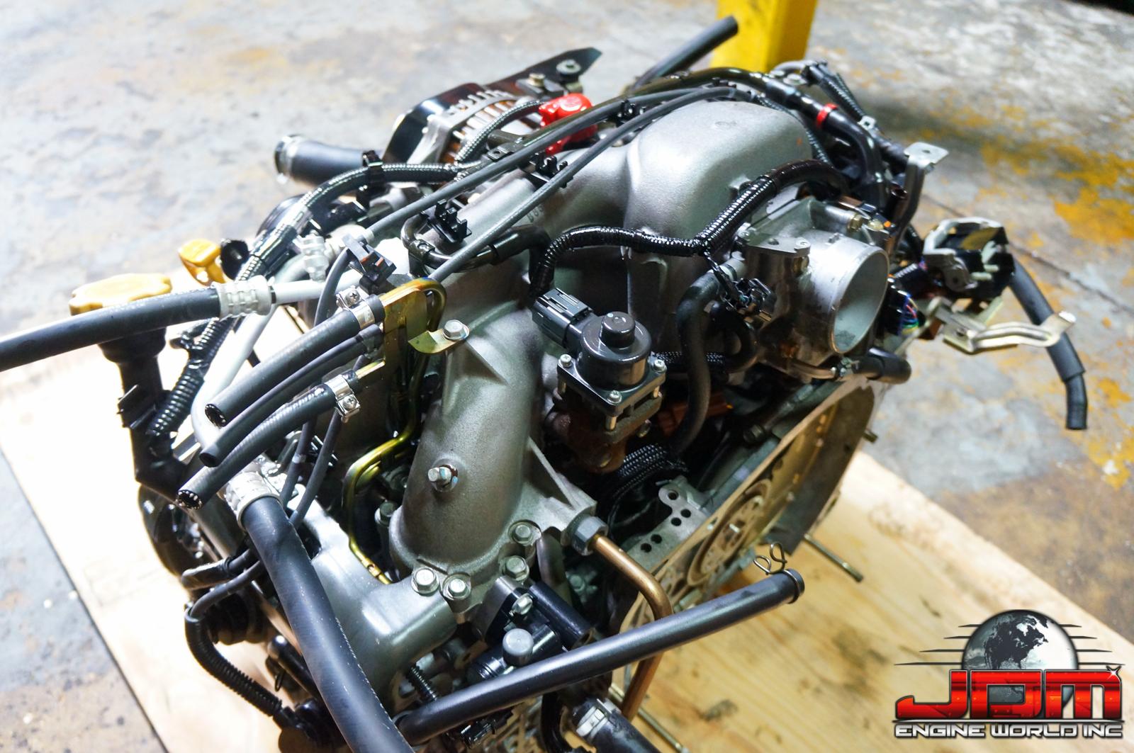 02 03 04 05 SUBARU IMPREZA FORESTER LEGACY EJ25 2.5L SOHC ENGINE JDM EJ25
