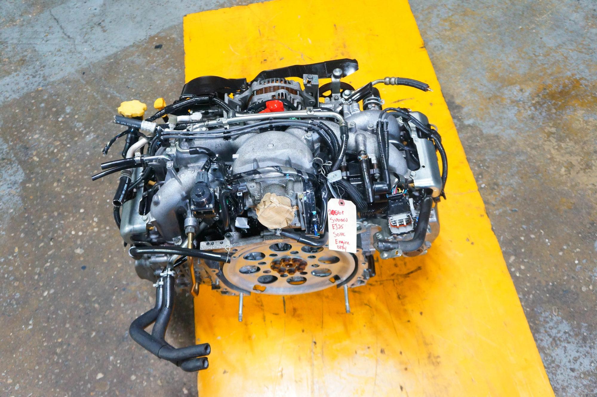 06-09 SUBARU IMPREZA FORESTER LEGACY EJ25 2.5L SOHC ENGINE JDM EJ25