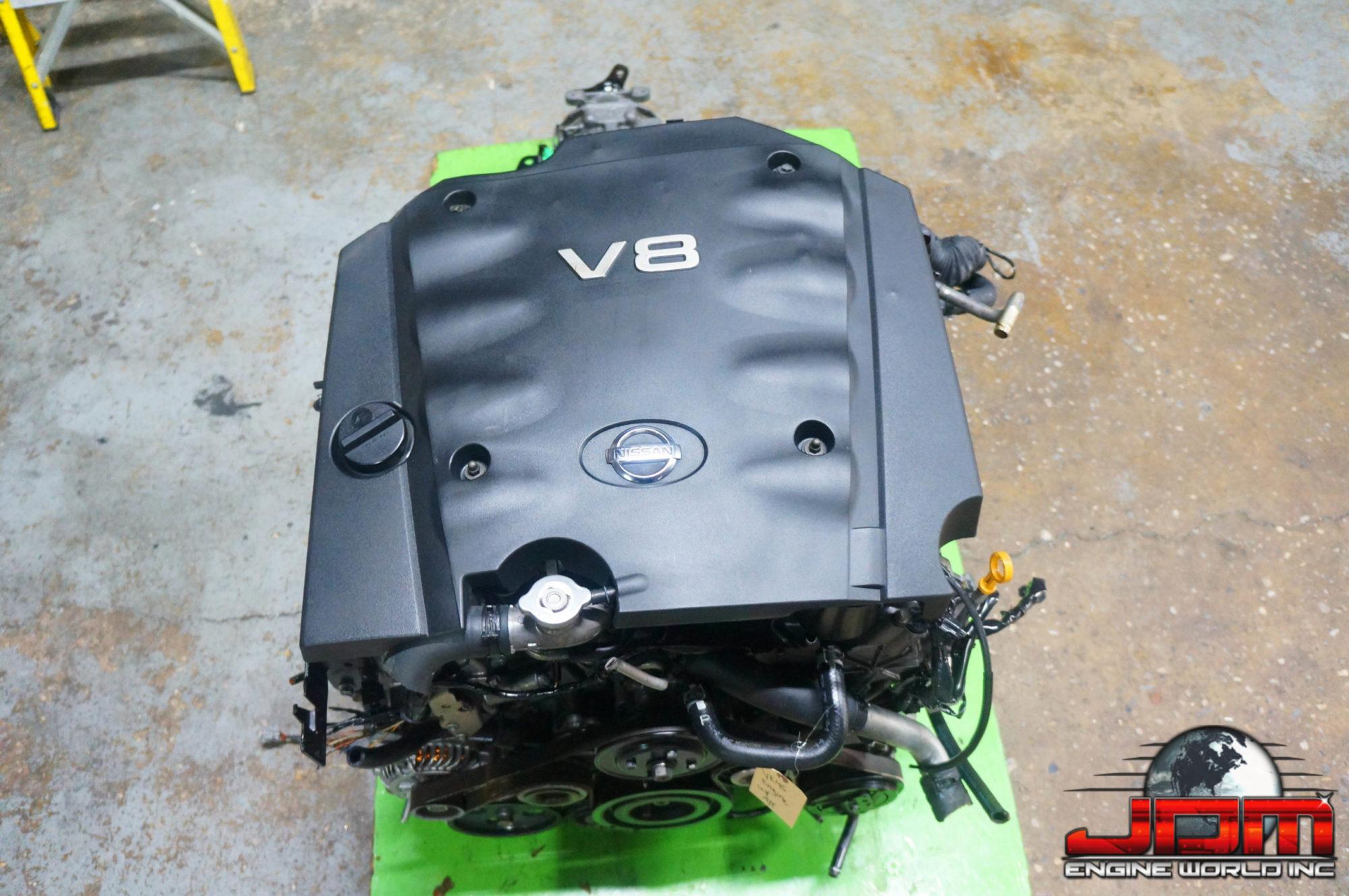 JDM VK45DE ENGINE w/ AUTOMATIC TRANSMISSION #2