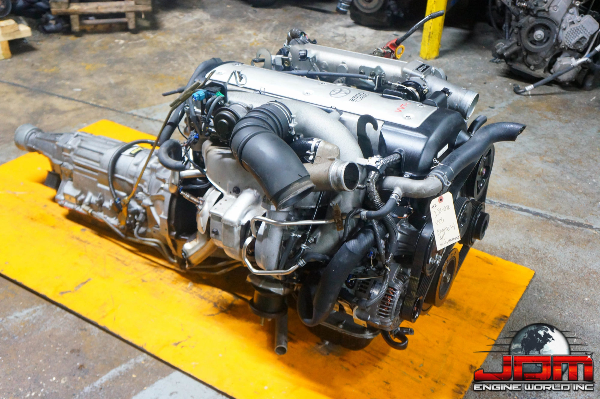 TOYOTA 1JZ-GTE VVTi 2.5L ETCS TURBO FRONT SUMP ENGINE & AUTOMATIC TRANSMISSION JDM 1JZ #2