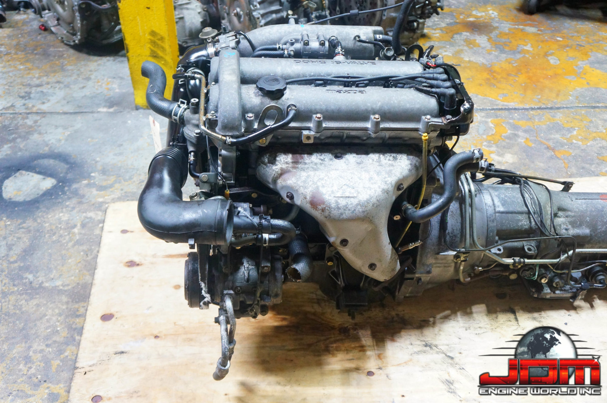 JDM MAZDA 94-97 B6 ENGINE w/ AUTOMATIC TRANSMISSION