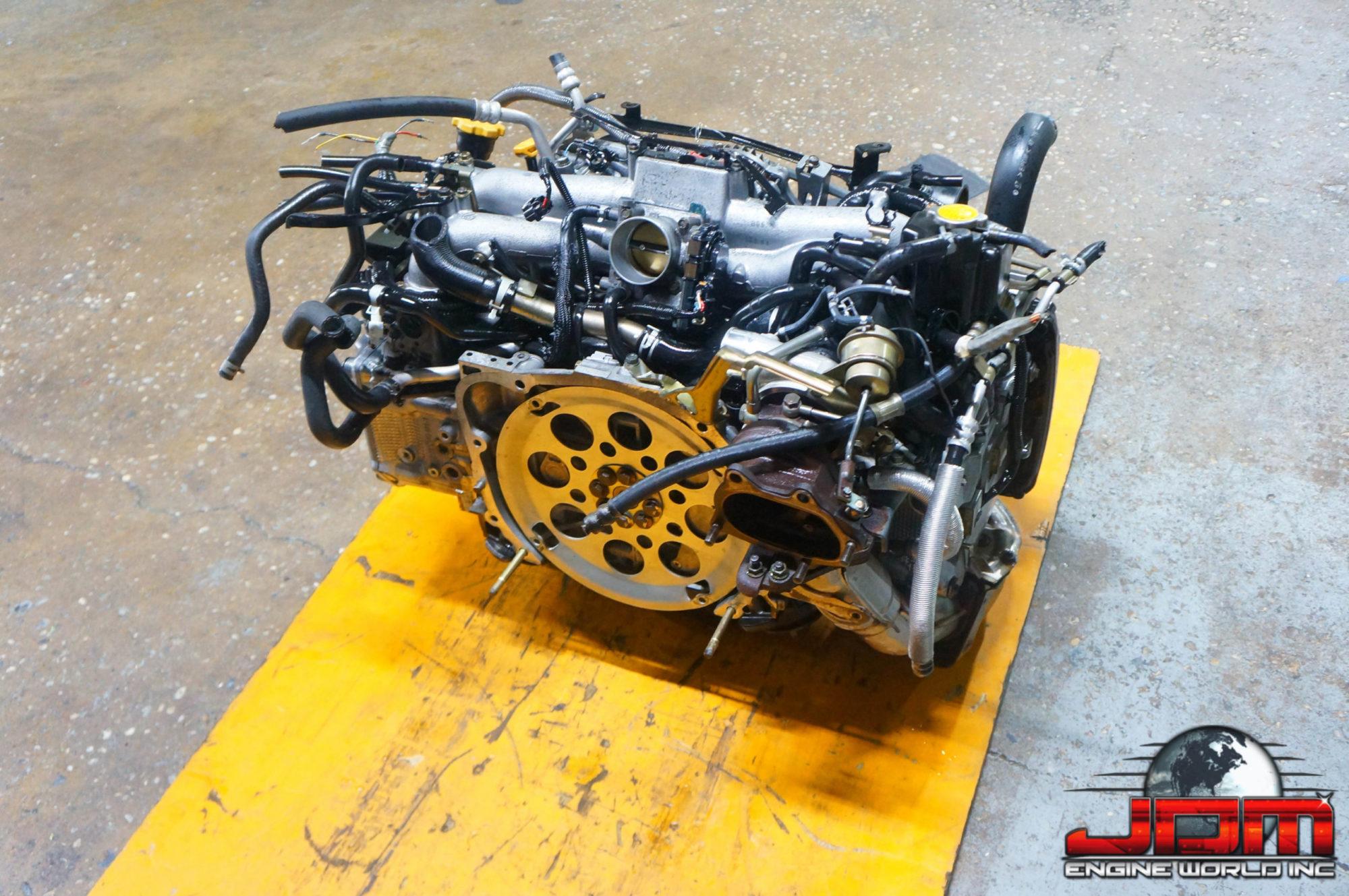 02-05 SUBARU IMPREZA WRX DOHC 2.0L TURBO AVCS ENGINE