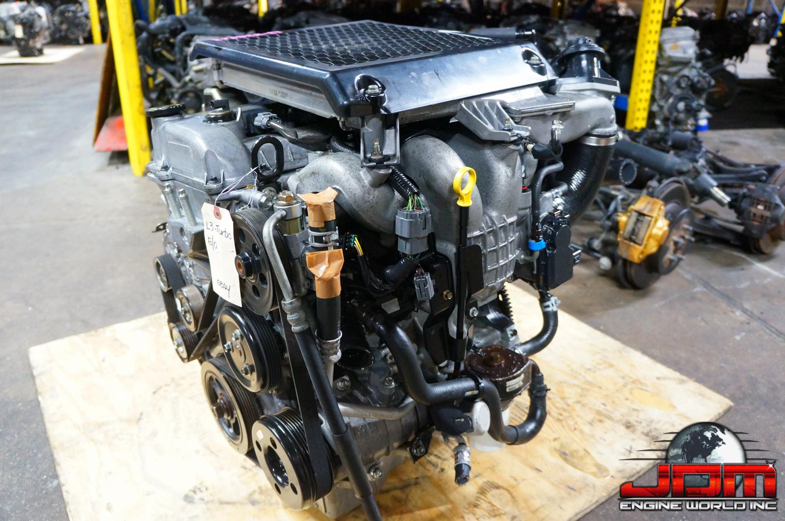 06-12 MAZDA CX7 ENGINE L3 2.3L MZR TURBO DOHC JDM L3T
