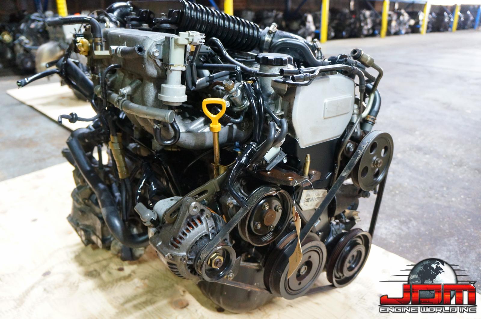 TOYOTA STARLET 4E-T 1.3L ENGINE WITH 5 SPEED TRANSMISSION JDM 4ET