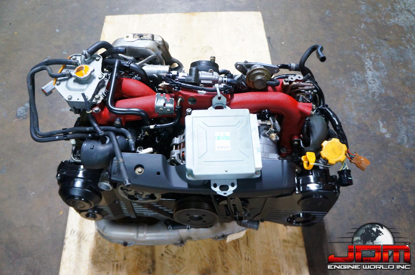 JDM EJ20-T STi VERSION 8 ENGINE ONLY