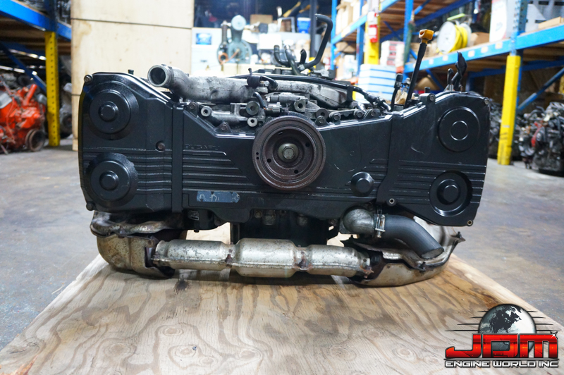 02 03 SUBARU FORESTER WRx REPLACEMENT ENGINE 2.0L TURBO NON AVCS JDM EJ20-T