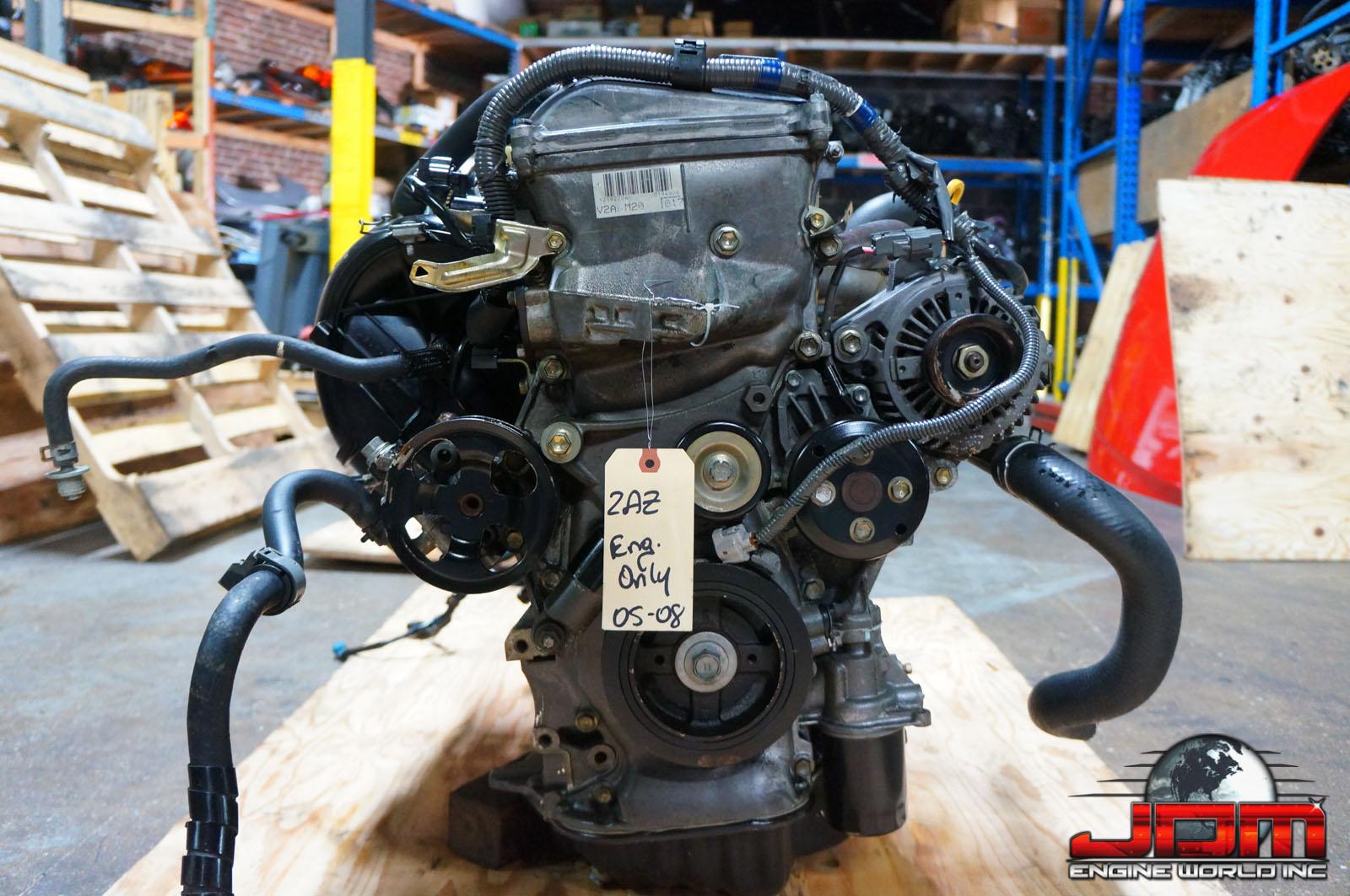 02 03 04 05 06 TOYOTA SOLARA 2AZ-FE ENGINE 2.4L VVTi JDM 2AZ