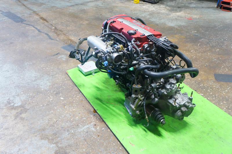 JDM H22A TYPES ENGINE WITH 5 SPEED LSD TRANSMISSION