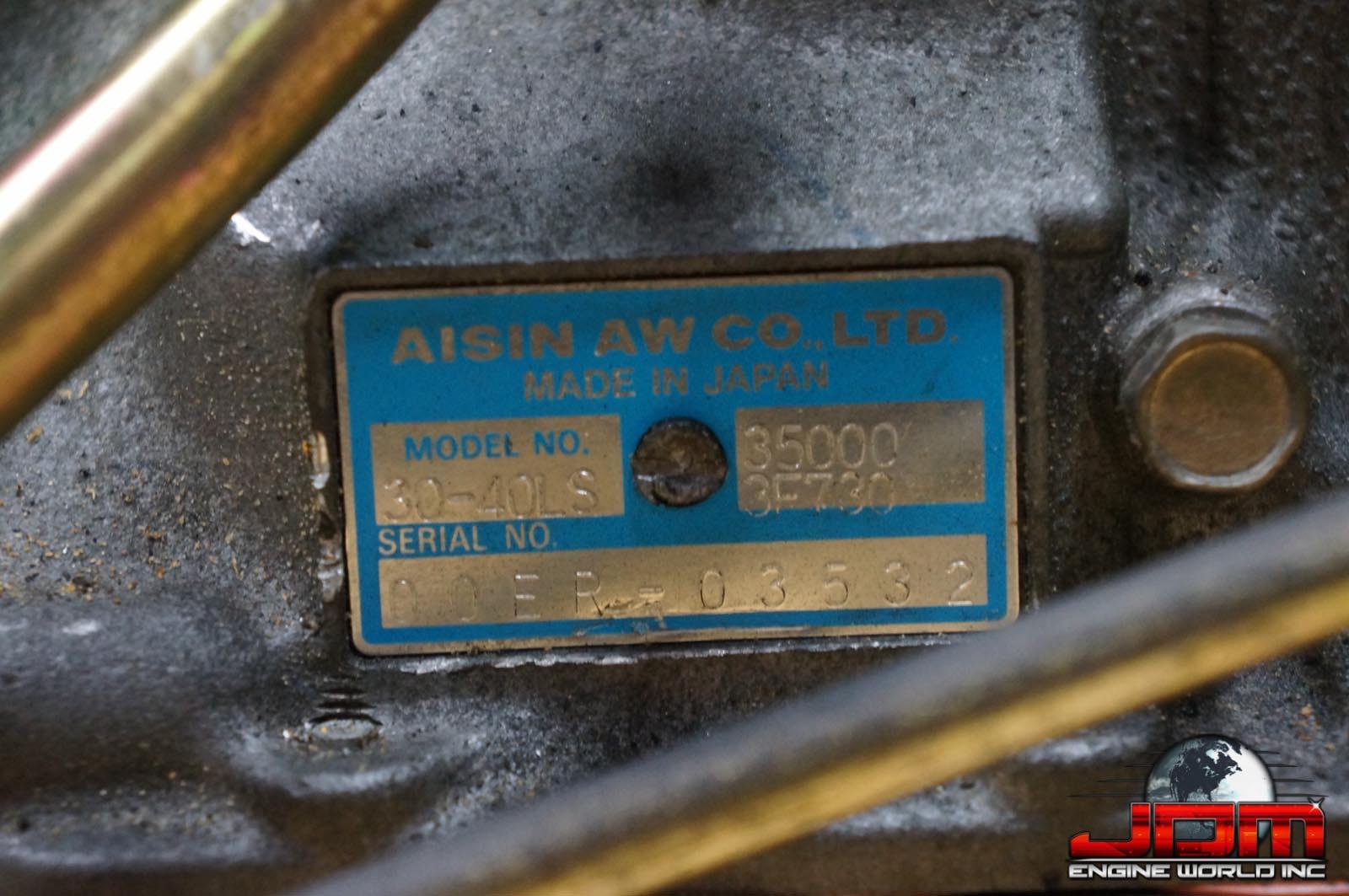 JDM 1JZ-GTE VVTi AUTOMATIC TRANSMISSION
