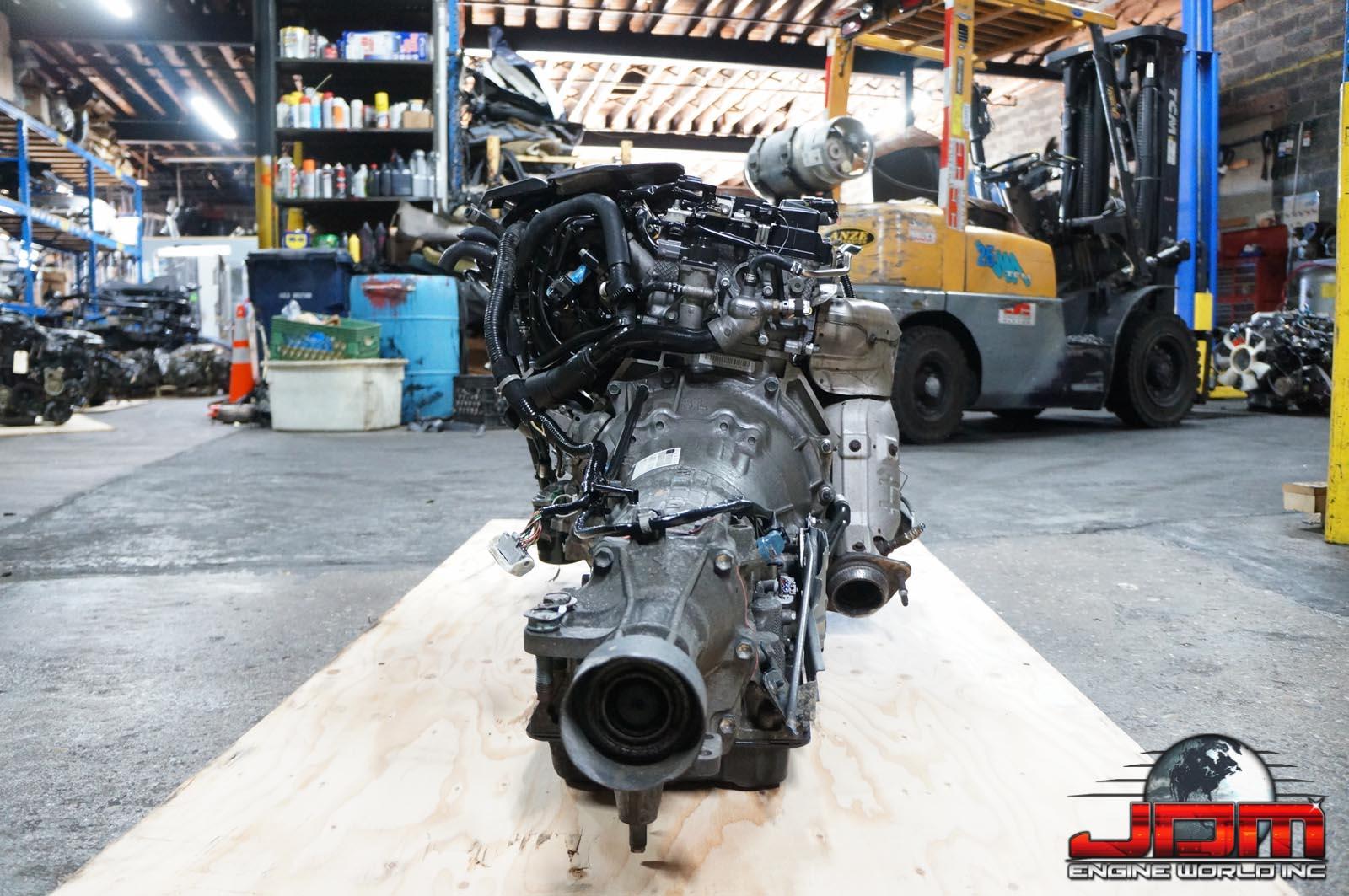 06-12 MAZDA MIATA LF ENGINE & AUTOMATIC TRANSMISSION 2.0L DOHC 16V JDM LF-ZE