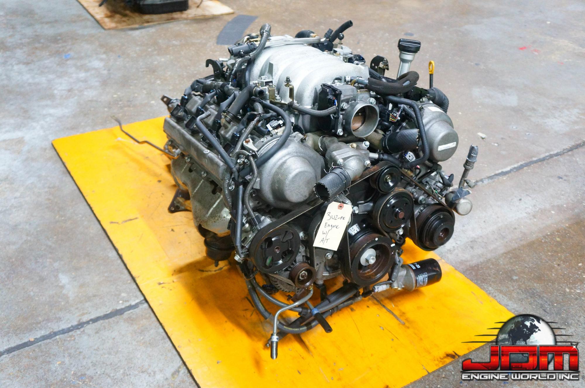 LEXUS GS430 LS430 SC430 3UZ-FE ENGINE & AUTOMATIC TRANSMISSION VVTi 4.3L V8 JDM 3UZ