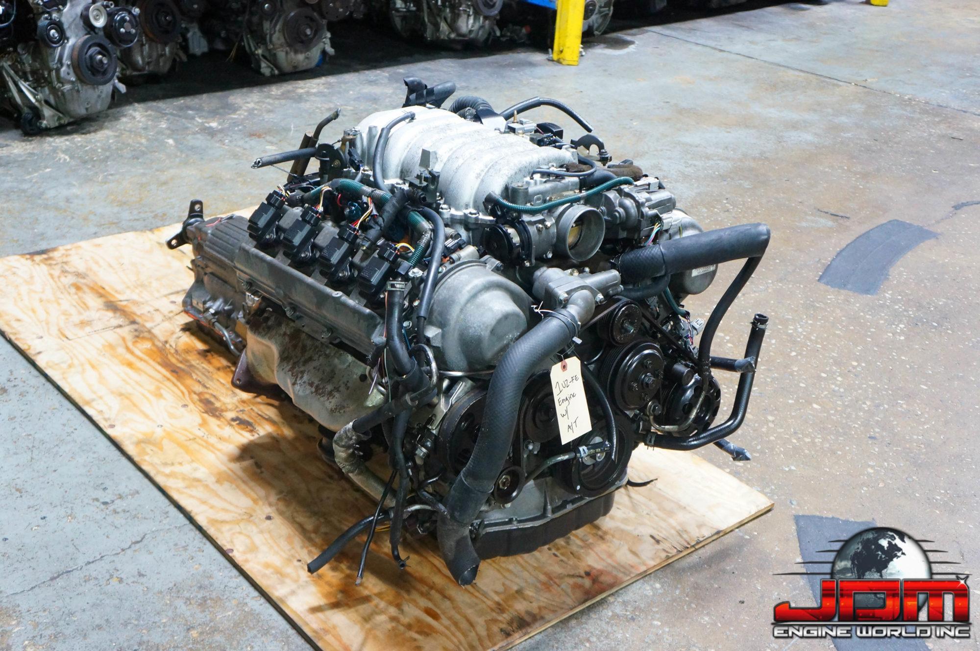 JDM 1UZ-FE GS400 SC498-05 LEXUS 00 LS400 1UZ-FE ENGINE & AUTOMATIC TRANSMISSION 4.0L VVTi