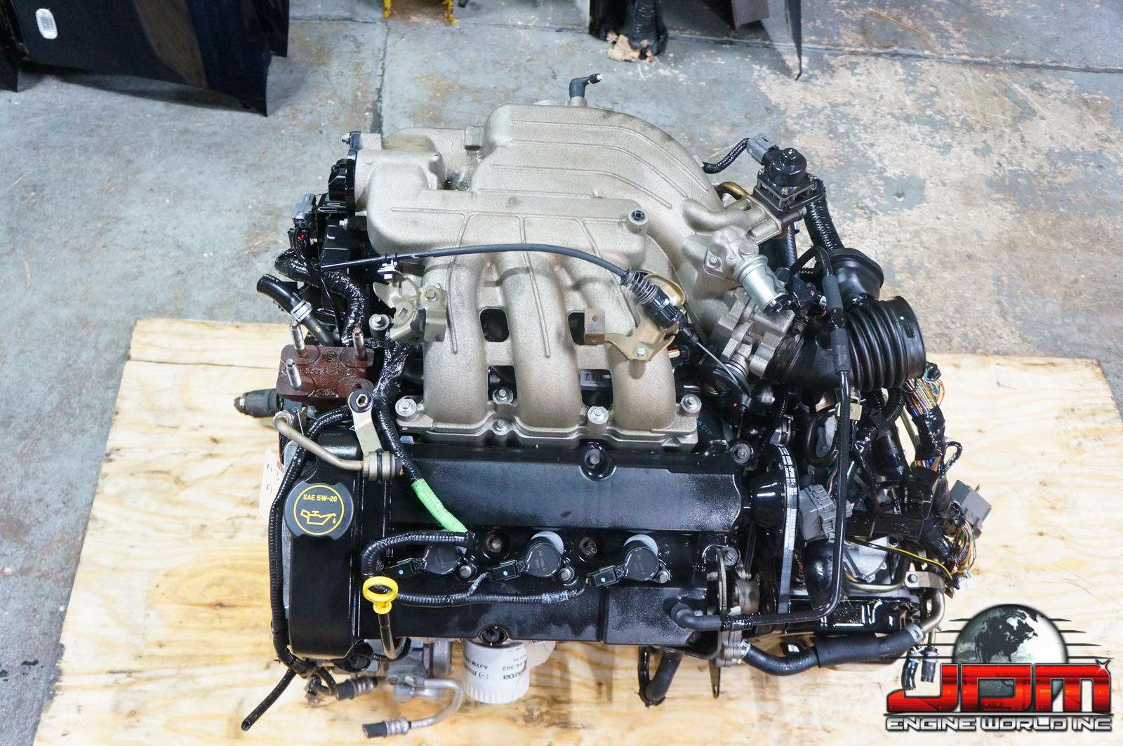 AJ ENGINE WITH AUTOMATIC TRANSMISSION