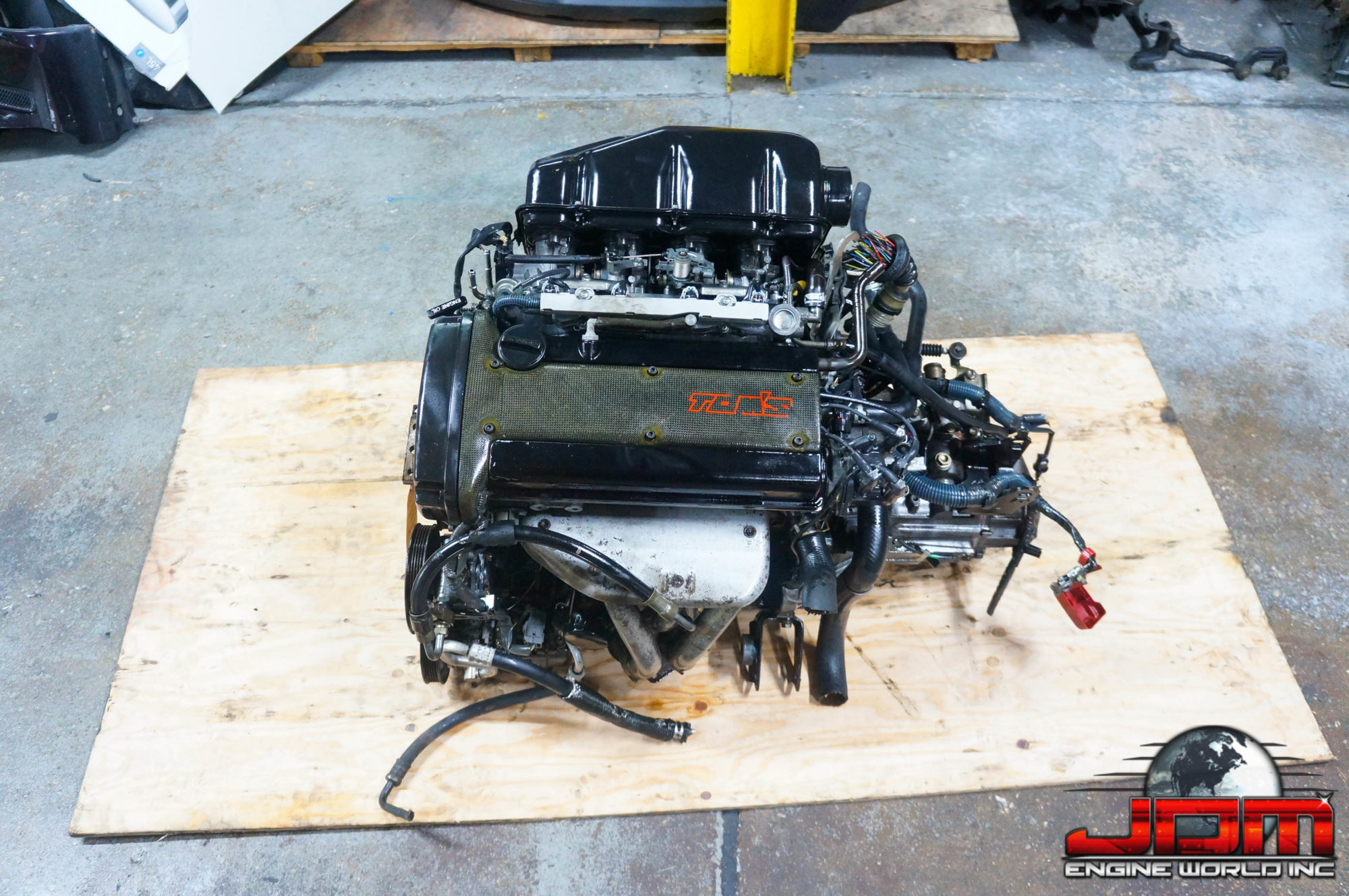JDM 4A-GE 20VALVE ENGINE WITH MANUAL TRANSMISSION
