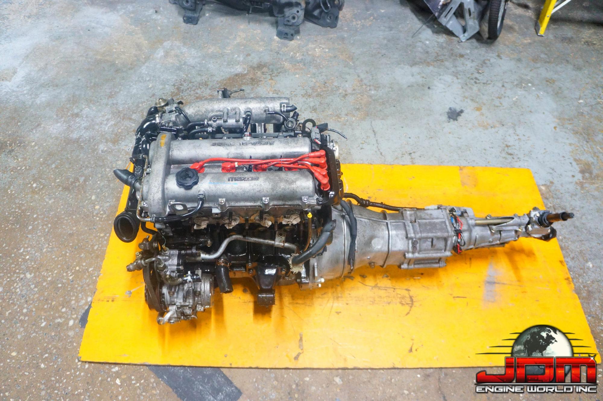 JDM B6 99-00 ENGINE WITH 5 SPEED MANUAL TRANSMISSION