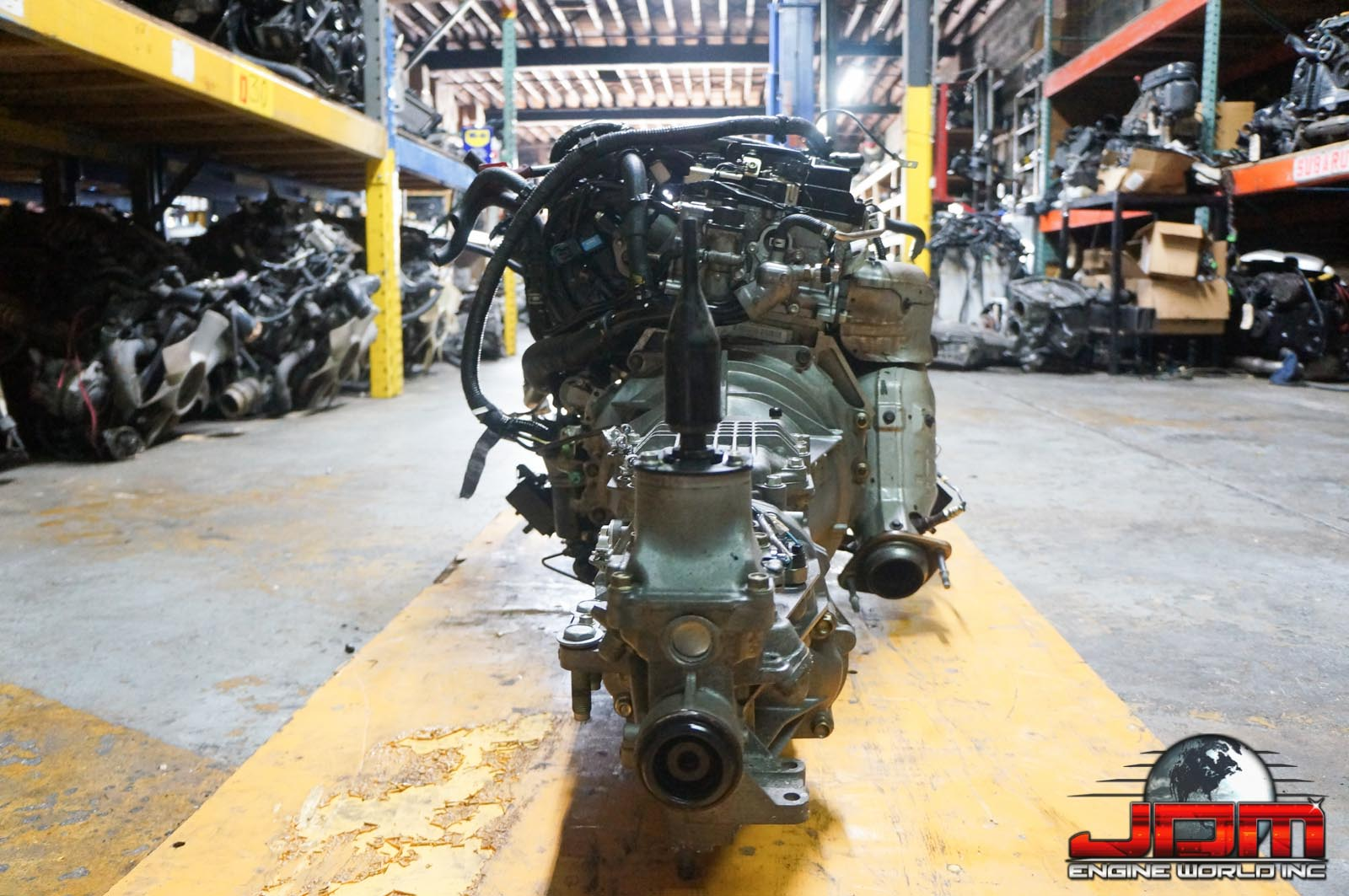06-12 MAZDA MIATA LF ENGINE & 6 SPEED TRANSMISSION 2.0L DOHC 16V JDM LF-ZE