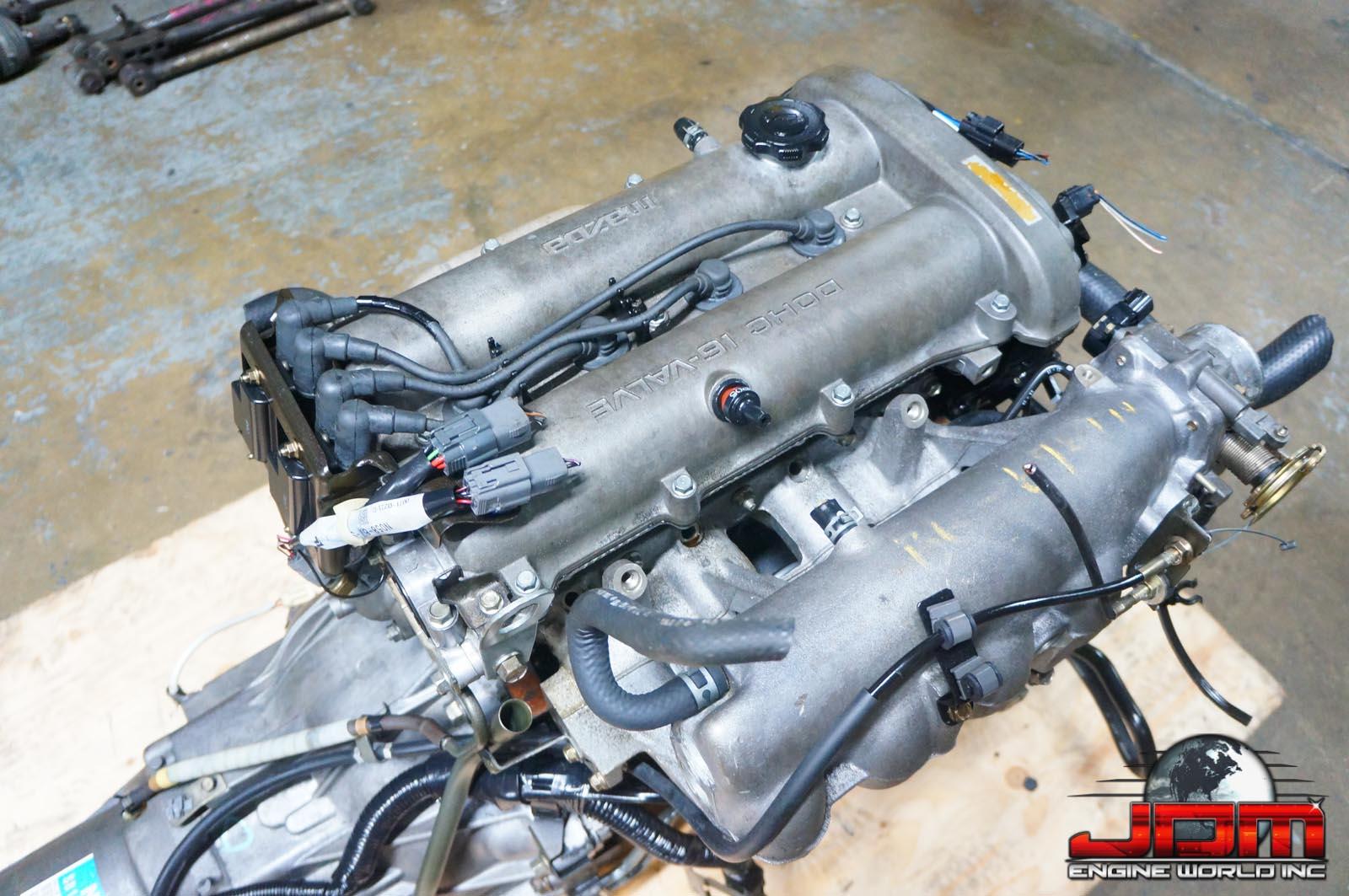 JDM B6 99-00 ENGINE WITH AUTOMATIC TRANSMISSION