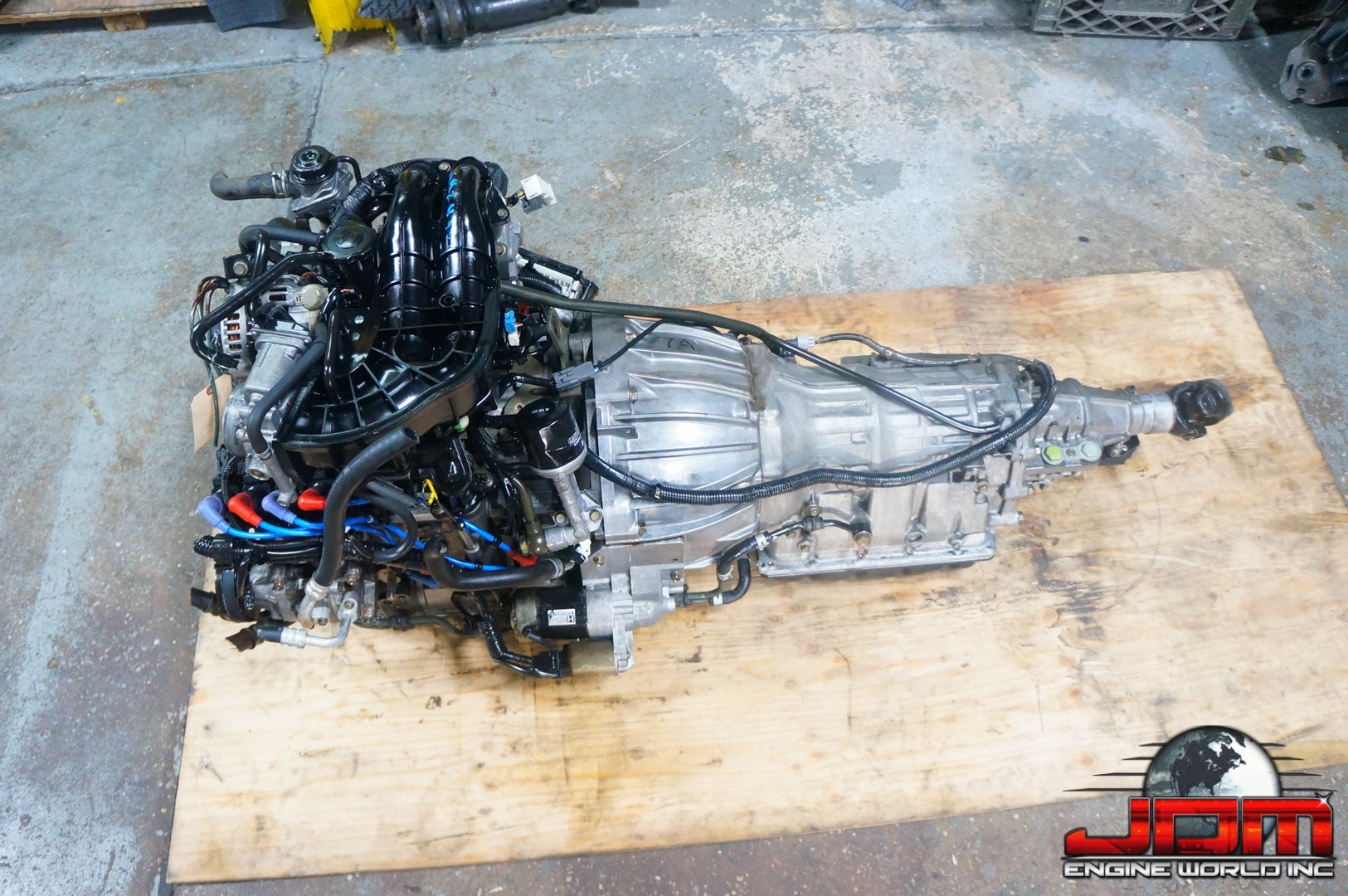 JDM 13B RX8 4-PORT ENGINE w/ AUTOMATIC TRANSMISSION