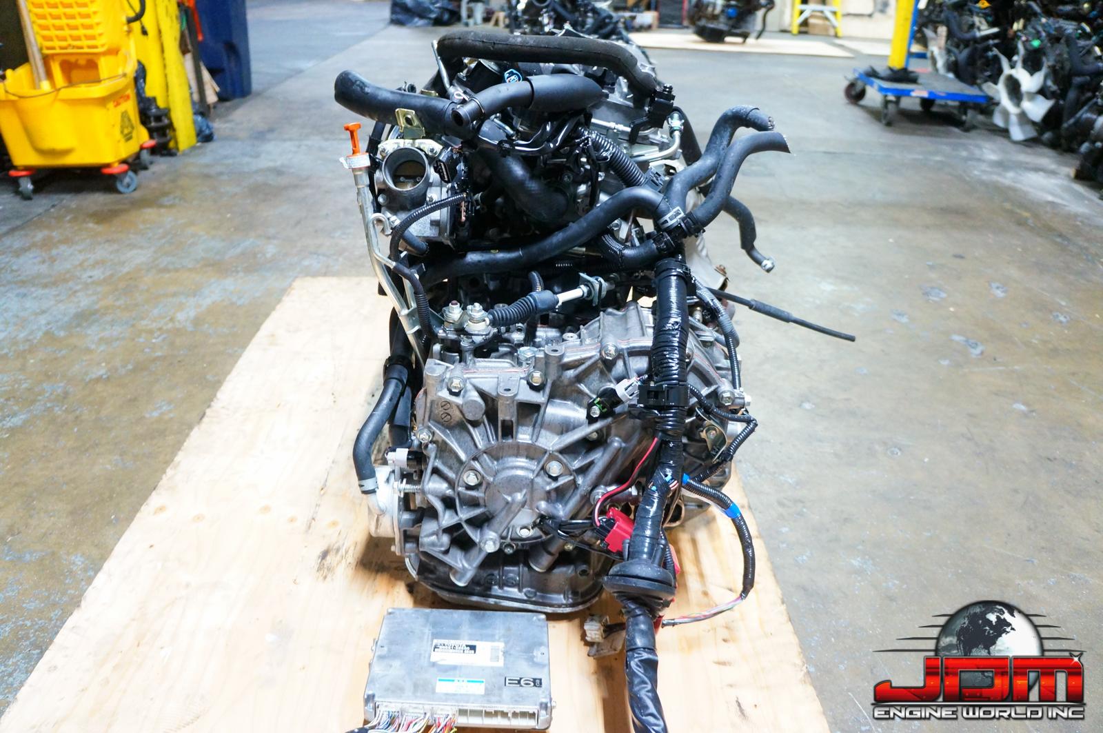 TOYOTA 1NZ-FE ENGINE & CVT AUTOMATIC TRANSMISSION VVTi 1.5L JDM 1NZ