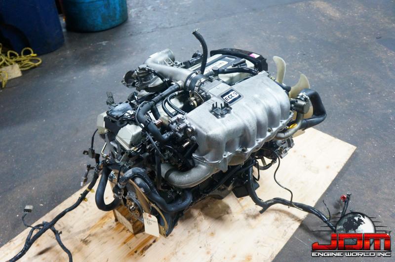 89-92 NISSAN SKYLINE R32 RB20DET ENGINE 2.0L TURBO JDM RB20DET