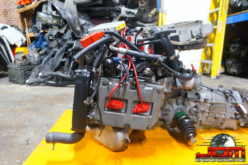 96-01 SUBARU WRx STi VERSION 6 ENGINE & MANUAL TRANSMISSION GC8 2.0L TURBO STi JDM EJ20-T