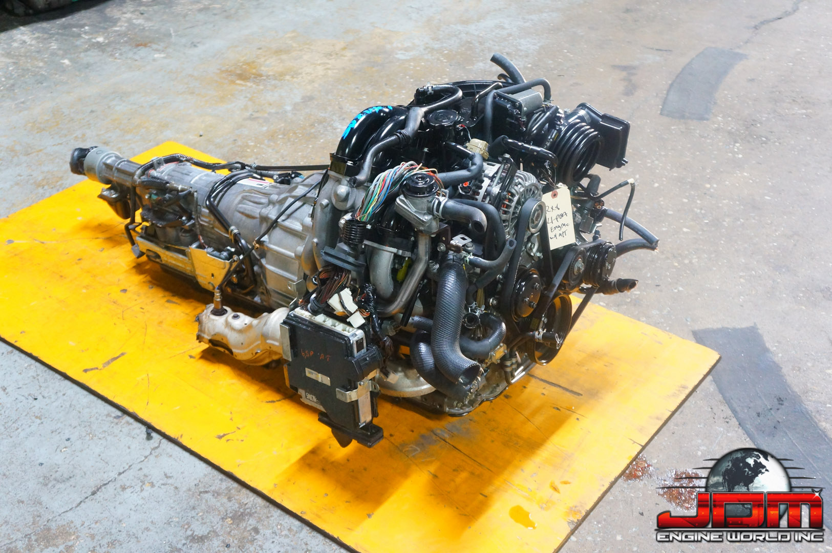 JDM MAZDA RX8 6-PORT ENGINE w/ 6 SPD AUTOMATIC TRANSMISSION