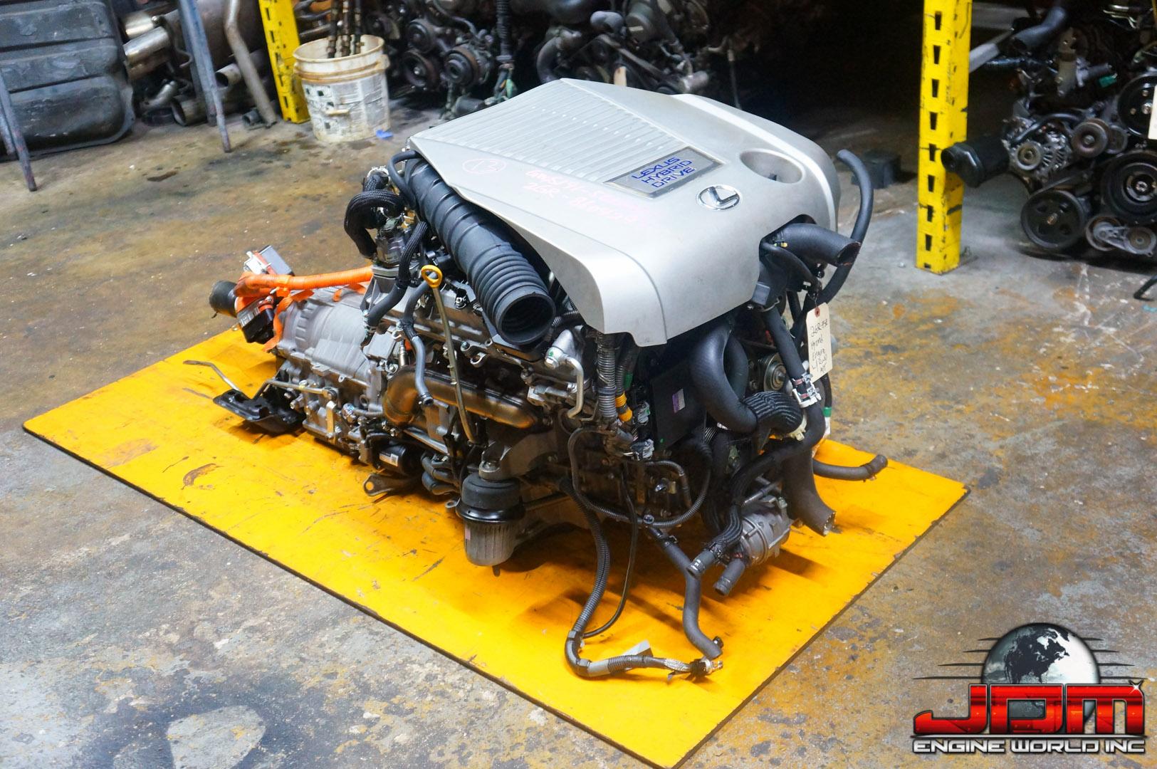 JDM LEXUS 07 08 09 10 11 GS350 3.5L 2GR-FSE ENGINE w/ RWD AUTOMATIC TRANSMISSION